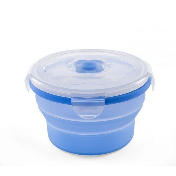 Nuvita Univerzálna skladacia silikónová myska na potraviny  - modrá - 4468