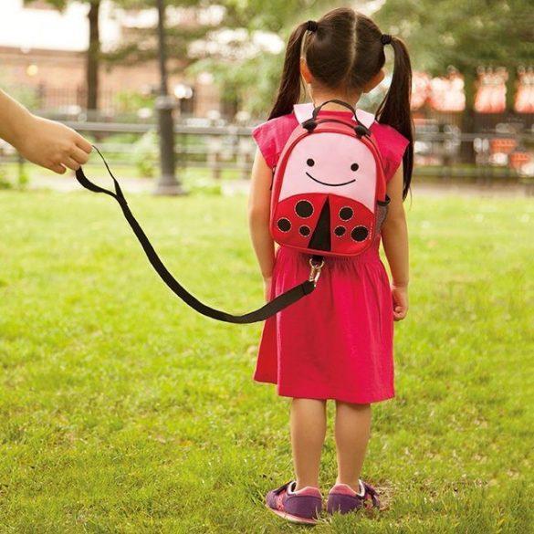 Skip Hop Zoo batoh s vodítkom - lienka