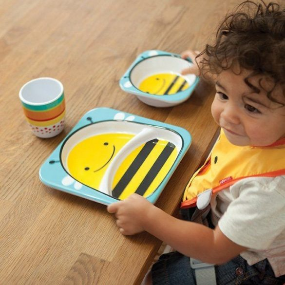Skip Hop Zoo hlboký tanier -  včielka