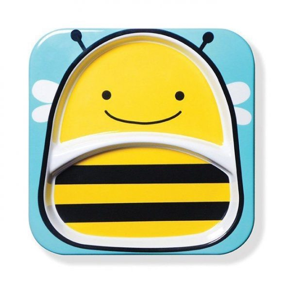 Skip Hop Zoo veľký tanier - včielka