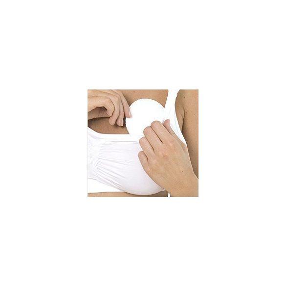 Carriwell bavlnené pracie vložky - biele