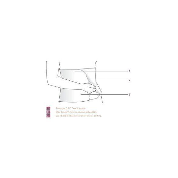 Carriwell Pás po pôrode sťahovacie  L/XL - natúr