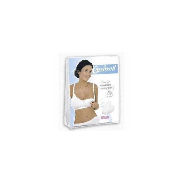 Carriwell dojčenská podprsenka II./M - biela