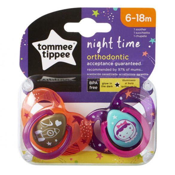 Tommee Tippee Night cumlík (2ks) 6-18 mes