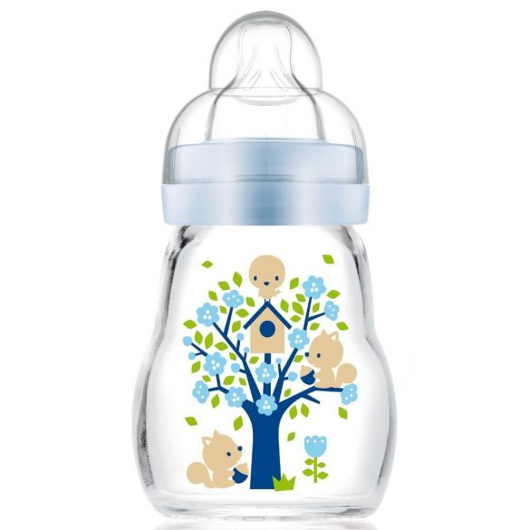 MAM Feel Good 170ml - sklenená detská fľaša