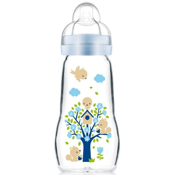 MAM Feel Good 260ml - sklenená detská fľaša