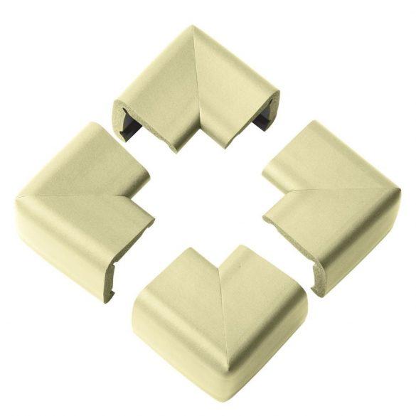 Clevamama chrániče rohov béžová farba XL - 4 ks