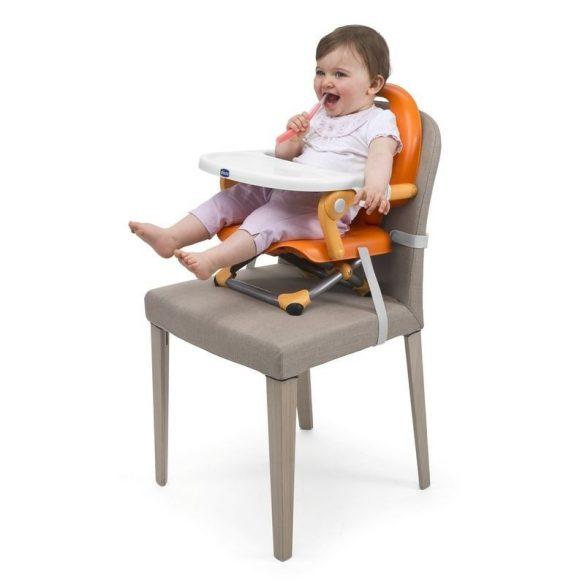 Chicco Pocket Snack podsedák prenosný na stoličku  - Mandarino