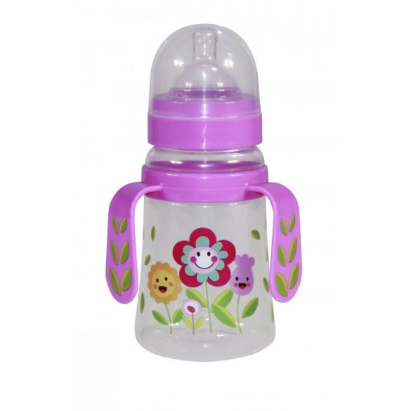 Baby Care širokohrdlá fľaša s držadlom 250ml
