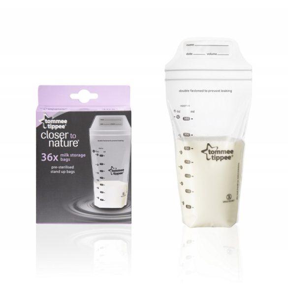 Tommee Tippee Closer To Nature sáčky na uskladnenie materského mlieka 36ks x 350ml