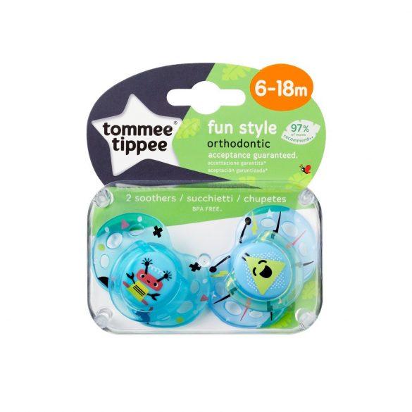Tommee Tippee Closer To Nature Fun cumlík 6-18mes 2 ks