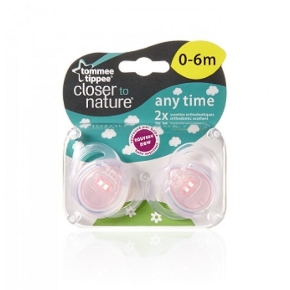 Tommee Tippee Closer To Nature Any time cumlík 0-6mes 2 ks