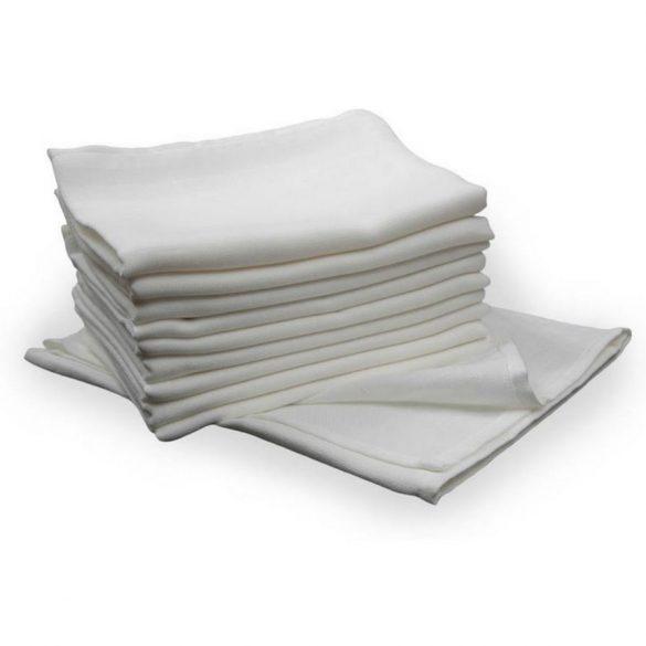 Scamp látkové biele plienky 70x70 cm - 10 ks