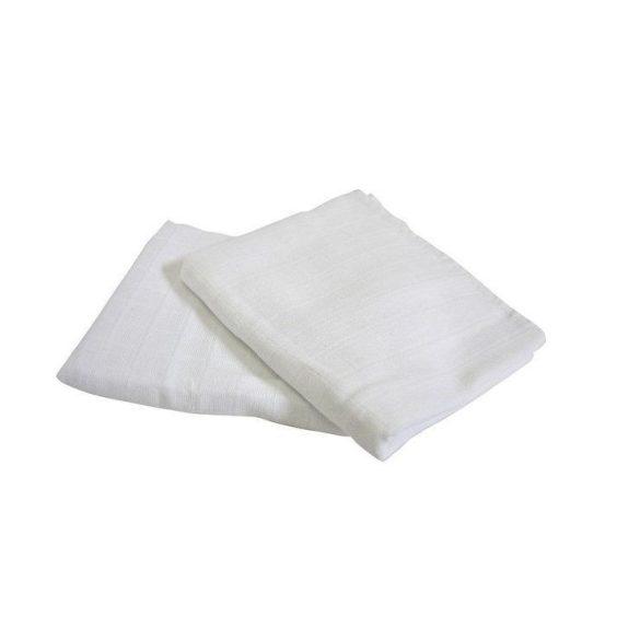 Scamp látkové biele plienky 70x70 cm - 3 ks