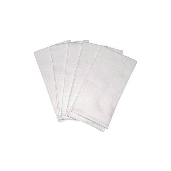 Scamp látkové biele plienky 70x70 cm - 5 ks