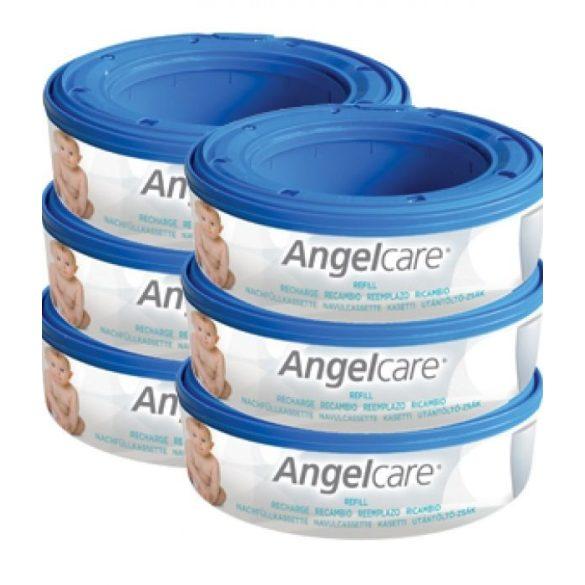 Angelcare náhradná náplň do koša 6ks