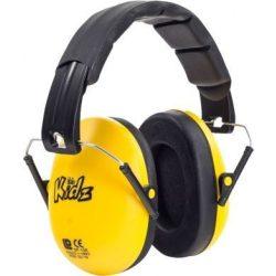 Edz Kidz - slúchadlá pre bábätká a deti - žlté