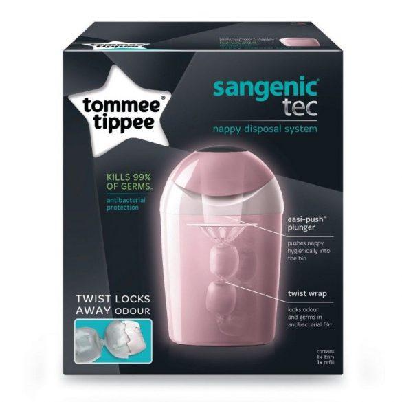 Tommee Tippee Sangenic TEC kôš na plienky ružový M 84008801