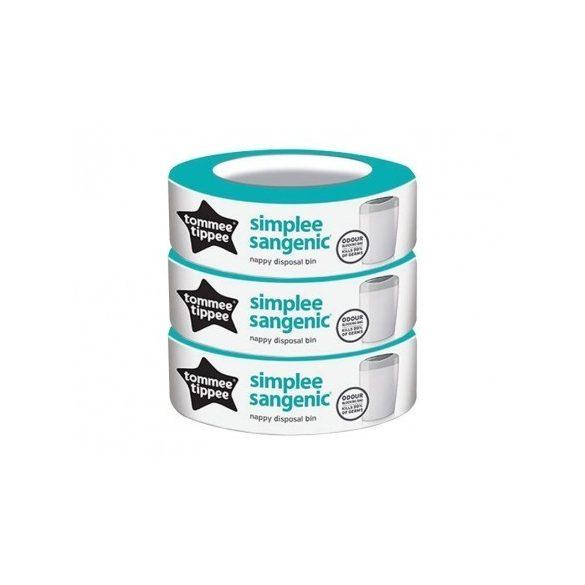 Tommee Tippee Sangenic Simplee náhradné kazety - 3ks-  SL 87033501