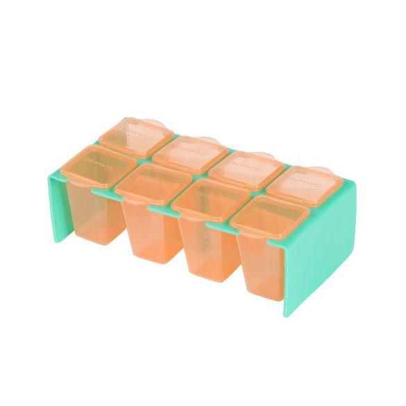 Clevamama skladovacie poháriky 80 ml - 8ks