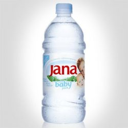 Jana Baby prírodná minerálna voda 1L