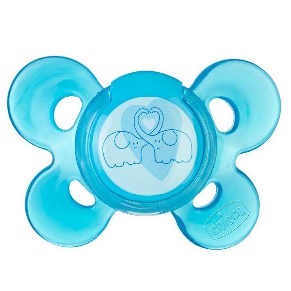 Chicco Physio Comfort silikónový cumlík 6-12m - modrý