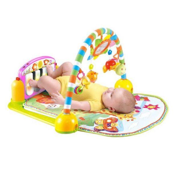 Lorelli Toys deka na hranie - Piano Gym Pink