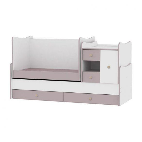 Lorelli MiniMax kombi postieľka 72x190 - white