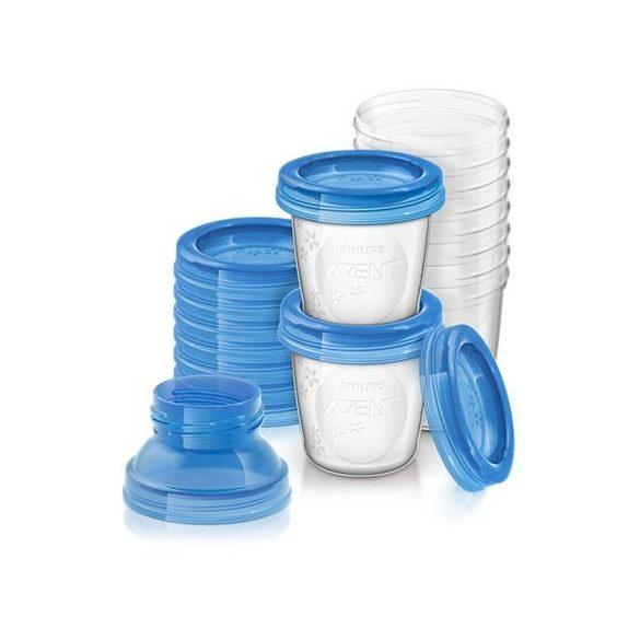 Avent VIA zásobníky na materské mlieko - 10ks