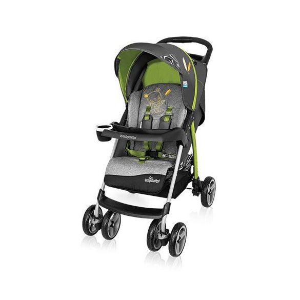 Baby Design Walker Lite športový kočík - 04 Green 2016