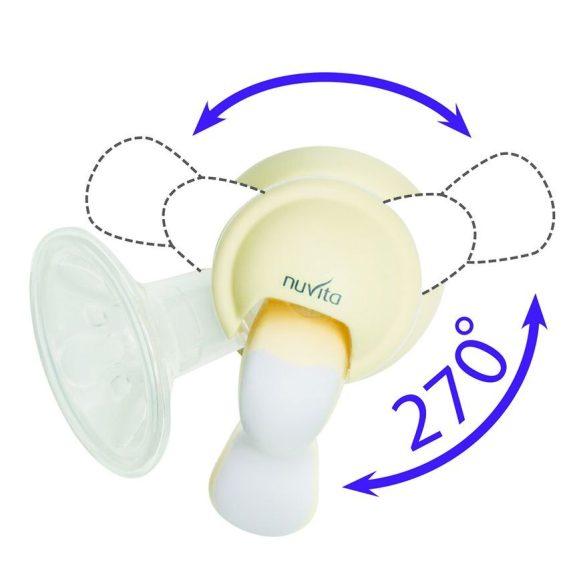 Nuvita Twist Manuálna odsávačka mlieka + kojenecká fľaša - 1215  !!Výpredaj !!