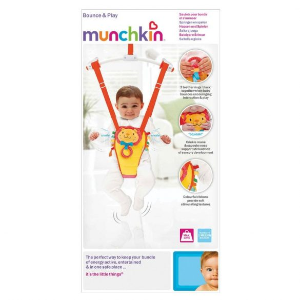 Munchkin hopsadlo do dverí - žltý lev