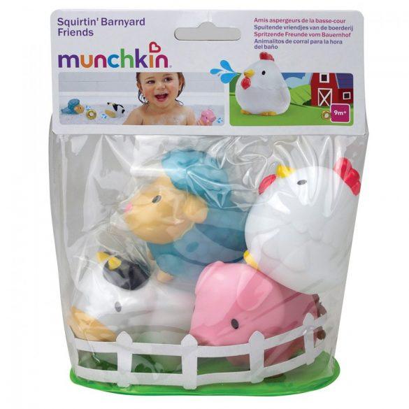 Munchkin hračka do kúpeľa - Farma (4ks)
