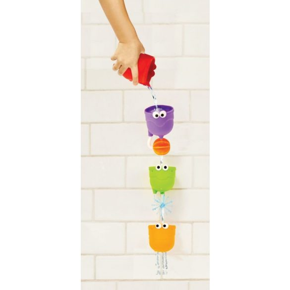 Munchkin hračka do kúpeľa - Falls™ / Poháre na prísavku