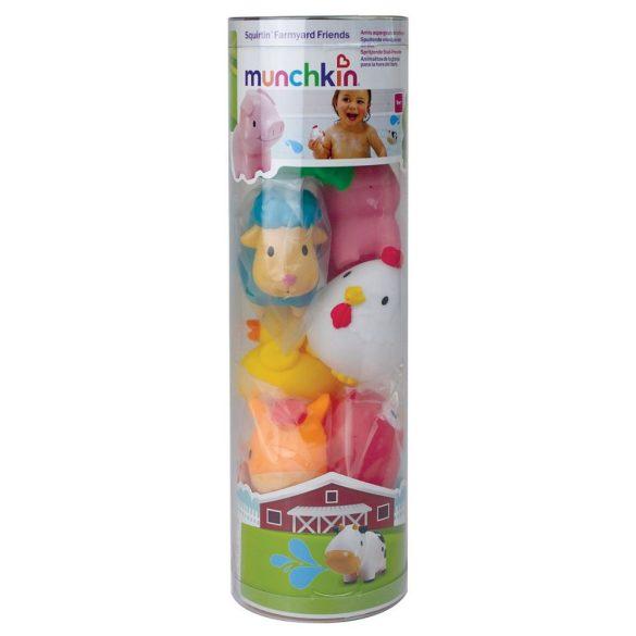 Munchkin hračka do kúpeľa - Farma (8ks)
