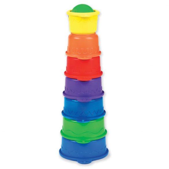 Munchkin hračka do kúpeľa - Caterpillar Spillers / húsenička