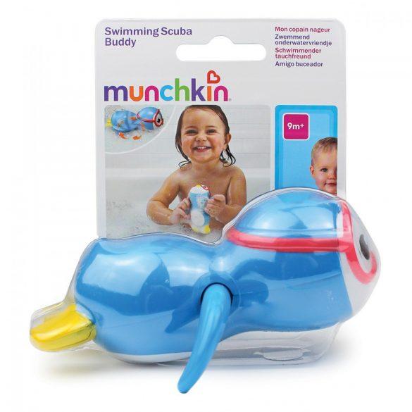 Munchkin hračka do kúpeľa - Swimming Scuba Buddy /plávajúci tučniak