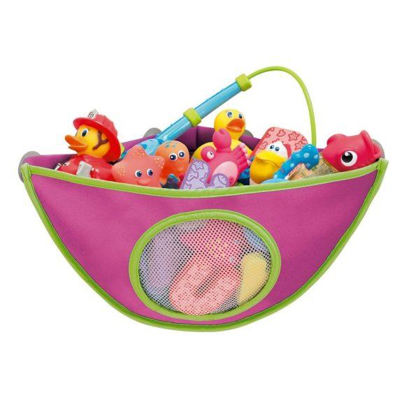 Munchkin úložný priestor pre hračky do kúpeľa - modrá alebo ružová