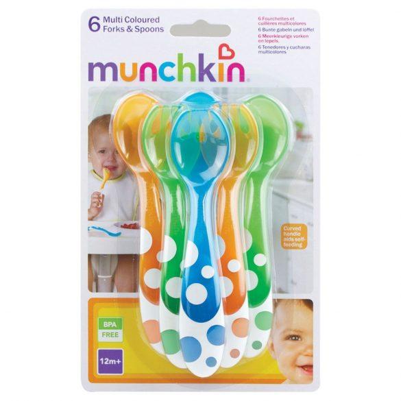 Munchkin set lyžička a vidlička (6ks)