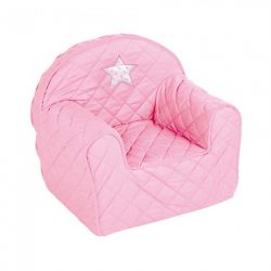 Albero Mio detské kresielko s hviezdičkou - Pink