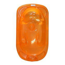 Lorelli Anatomicky tvarovaná vanička + stojan - Oranžová