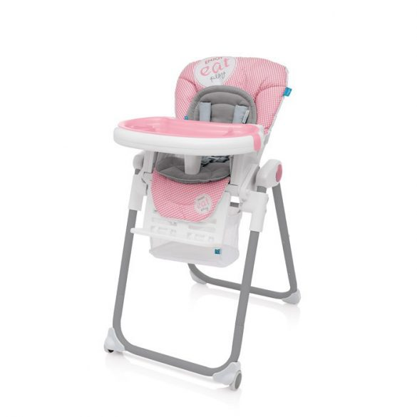 Baby Design Lolly multifunkčná jedálenská stločka - 08 Pink 2017