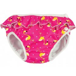 ImseVimse Plienky do vody - Pink Flamingo  S 6-8 kg