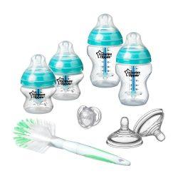 Tommee Tippee Advanced Anti-colic štartovacia sada pre novorodencov tyrkys (8ks)