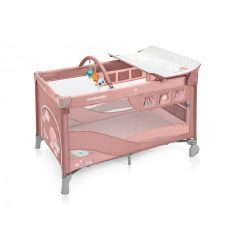 Baby Design Dream 2:1multifunkčná nastavitelná cestovná postieľka - 08 Pink 2019