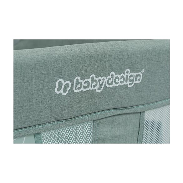 Baby Design Simple cestovná postieľka - 07 Light Grey 2019