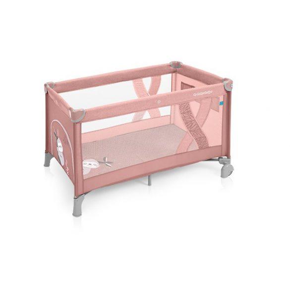 Baby Design Simple cestovná postieľka - 08 Pink 2019
