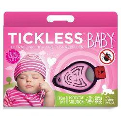 Tickless Baby ultrazvukový repelent proti kliešťom - ružová