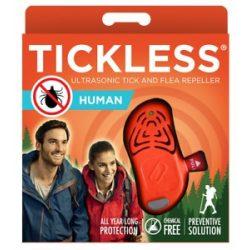Tickless Human ultrazvukový repelent proti kliešťom - orange