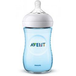 Avent SCF035/17 Natural fľaša 260 ml BLUE (Modrá)